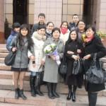 Каспий тобы және студенттер